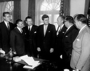 JFK Meeting with Governors on Civil Defense, 9:30AM