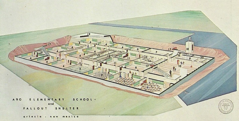 Abo Elementary School Architectural Plan