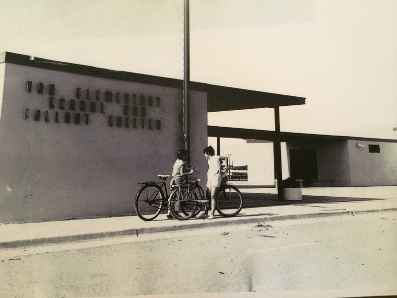 Abo Elementary School and Fallout Shelter, Artesia, New Mexico, 1962